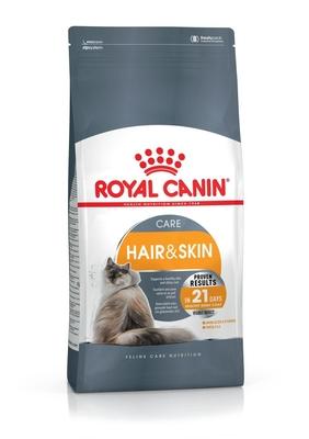 Royal Canin Hair and skin care - корм для котов, здоровая кожа и блестящая шерсть, 0,4 кг