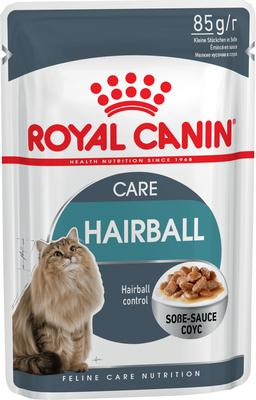 Royal Canin Hairball Care - влажный корм для котов, выведение шерсти, 85 г