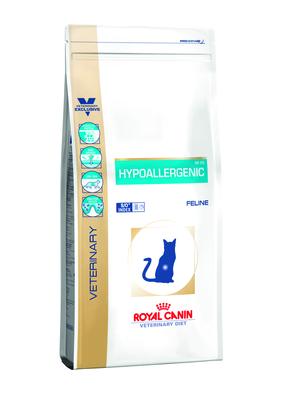 Royal Canin Hypoallergenic диета для кошек при пищевой аллергии/непереносимости, 0,4 кг