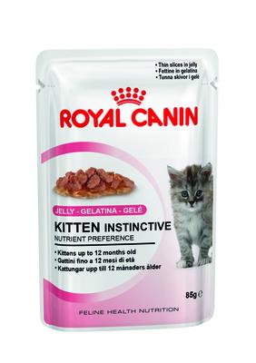 Royal Canin Kitten Jelle - влажный корм для котят в возрасте до 12 месяцев, желе, 85 г