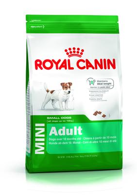 Royal Canin Mini Adult - корм для собак мелких пород (4-10 кг), старше 10 мес, 8 кг