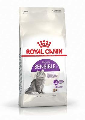 Royal Canin Sensible - корм для котов с чувствительным пищеварением, 2 кг