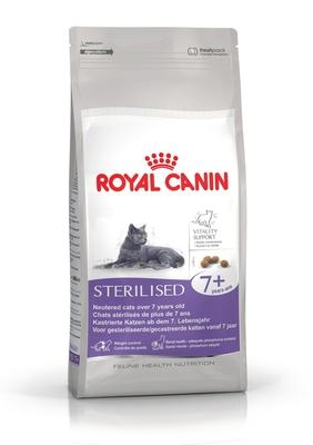 Royal Canin Sterilised 7+ - корм для стерилизованных кошек старше 7-и лет, 1,5 кг