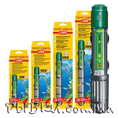 Sera Aquarium Heater 200 Вт – аквариумный обогреватель с терморегулятором, 08740