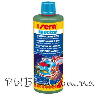 Sera Aquatan препарат для подготовки воды в аквариуме, 50 мл на 200 л