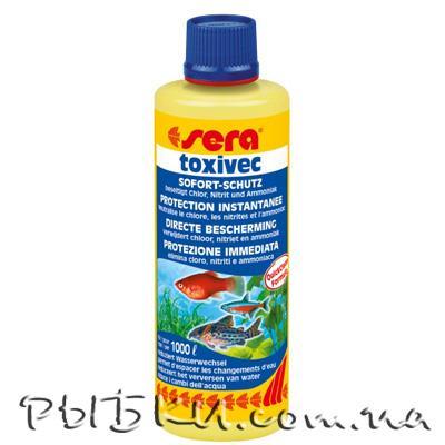 Sera Aquatuner (Toxivec) 100 мл - для быстрой очистки воды в аквариуме, 03001