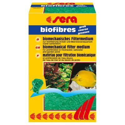 Sera Biofibres coarse 40 г - для фильтра грубой очистки, крупная фракция, 08452