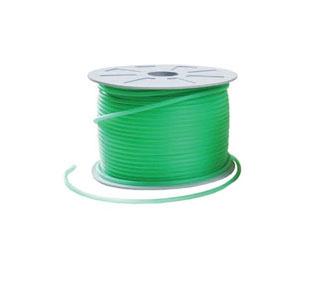Шланг силиконовый зеленый 4 мм, 1 м