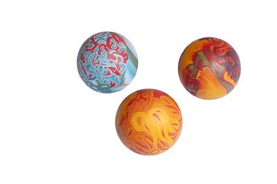 Sumplast игрушка мяч резиновый №3, ваниль