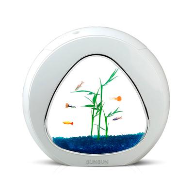 Небольшой аквариум для петушка SunSun YA01 белый