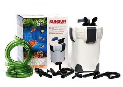 SunSun HW-302 - внешний фильтр для аквариумов объемом до 300 л