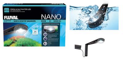 Светильник Hagen Fluval Nano LED Lamp - светильник для аквариумов, A3974