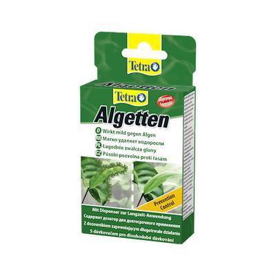Препарат против нитчатых и пучковых водрослей в аквариуме Tetra Algetten 12 таб