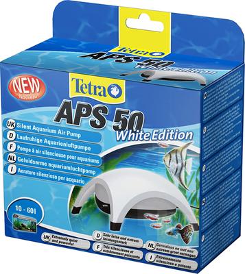 Tetra APS-50, компрессор для аквариума до 60 л, белый
