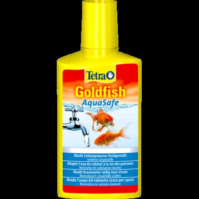 Tetra Aqua Safe Gold средство для подготовка воды у золотых рыбок, 100 мл на 200 л