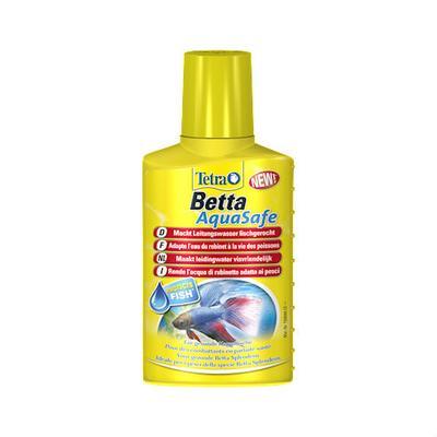 Tetra Betta AquaSafe препарат для подготовки воды в аквариуме с петушками, 100 мл на 200 л