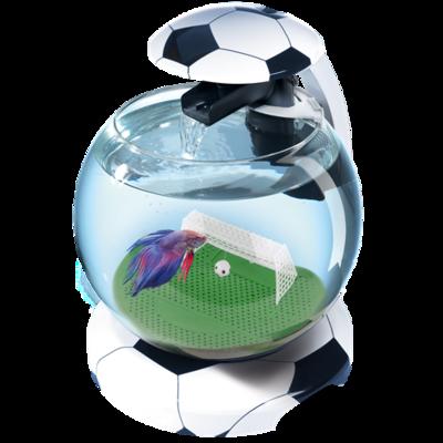 Tetra Cascade Globe Football - аквариум для небольших рыбок, 6,8 л