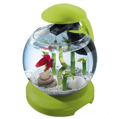 Tetra Cascade Globe Green - аквариум для небольших рыбок, 6,8 л