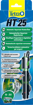 Tetra HT 25 Вт – аквариумный обогреватель с терморегулятором, 145122