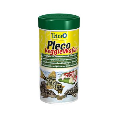 Tetra Pleco Veggie Wafers корм в таблетках для травоядных сомиков, 250 мл