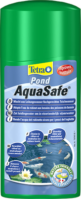 Tetra Pond AquaSafe, 500 мл на 10000 л - удаление хлора,735460
