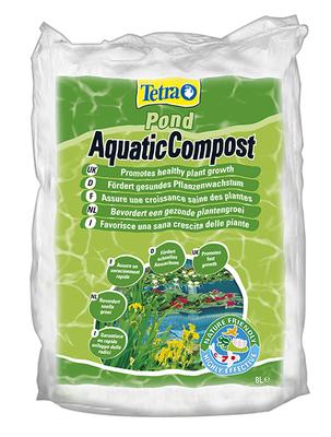 Tetra Pond Aquatic Compost, 8 л  –  питательный грунт, 154650