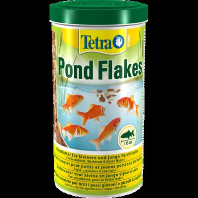 Tetra Pond Flakes - хлопья для золотых рыбок и КОИ, 1 л, 760790