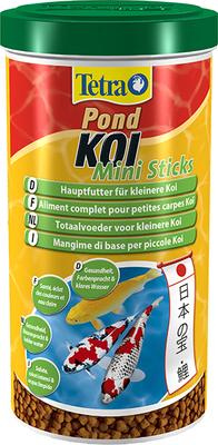 Tetra Pond Koi Mini Sticks – для молодых карпов КОИ, 1 л, 128897