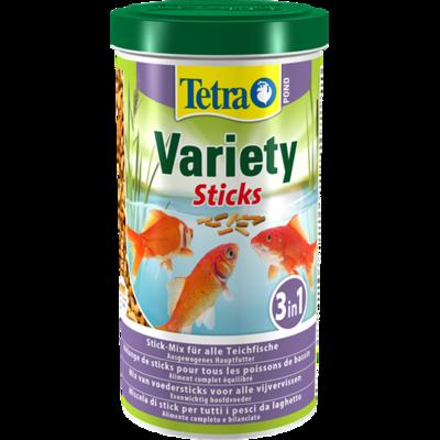Tetra Pond Variety Sticks – кормовая смесь из палочек, 25 л, 204577