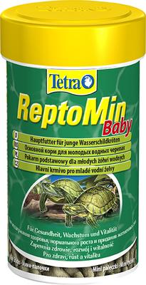 Tetrafauna ReptoMin Baby - корм для водных черепах, 100 мл, 140158