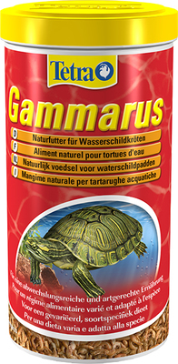 Tetrafauna ReptoMin Gammarus - гаммарус для водных черепах, 1 л