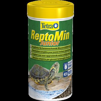 Tetrafauna ReptoMin Junior - корм для молодых водных черепах, 250 мл, 258884