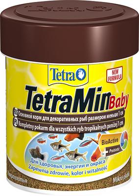TetraMin Baby - корм для мальков до 1 см, 66 мл, 199156