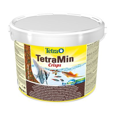 TetraMin Crisps корм в чипсах для всех видов рыб, 10 л