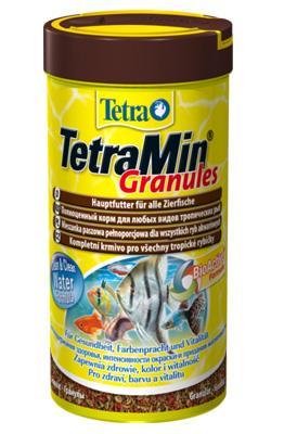 TetraMin Granules - основной корм для всех видов рыб, 250 мл, 139749