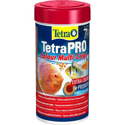 TetraPro Colour Multi-Crisps корм в чипсах для всех видов ярких рыб, 250 мл