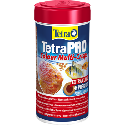TetraPro Colour Multi-Crisps корм в чипсах для всех видов ярких рыб, 100 мл