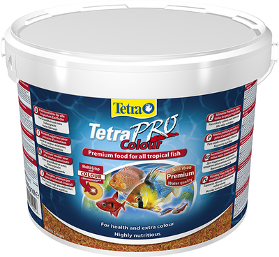 TetraPro Colour Multi-Crisps корм в чипсах для всех видов ярких рыб, 10 л