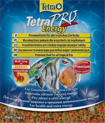 TetraPro Energy Multi-Crisps корм в чипсах для всех видов рыб, 12 г