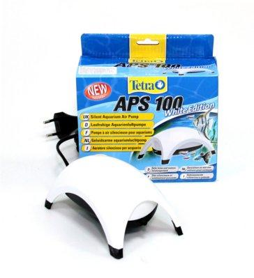 Tetra APS-100, компрессор для аквариума до 100 л, белый