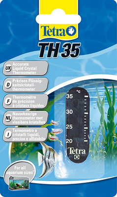 Tetratec TH-35 - градусник наклейка, 706184 /753686