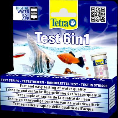 TetraTest 6 in 1 набор тестов для воды