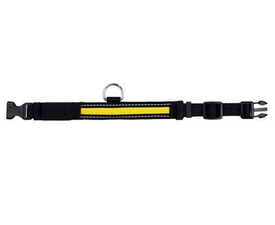 Trixie №1327 - светящийся ошейник Flash Collar  S-M, 30-40 см/25 мм