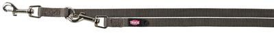 Trixie №20066 - перестежка Premium, серая L-XL 2 м/25 мм