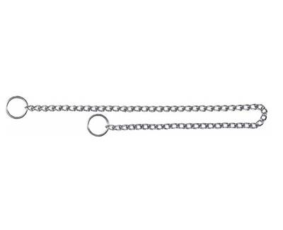 Trixie №2189 - удавка однорядная, хромированная, 65 см/3,0 мм