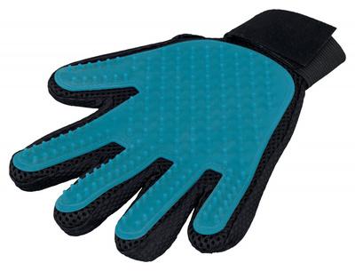 Trixie №23393 щетка-перчатка для вычесывания шерсти, резиновая, 16х24 см