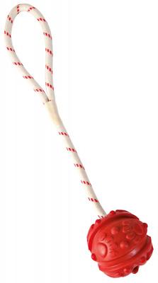 Trixie №33482 мяч плавающий, 7 см длина веревки 35 см