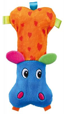 Trixie №34746 - игрушка для собак Бегемот плюшевый, 14 см