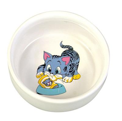 Trixie №4009 - миска для кота, 0,3л/11см