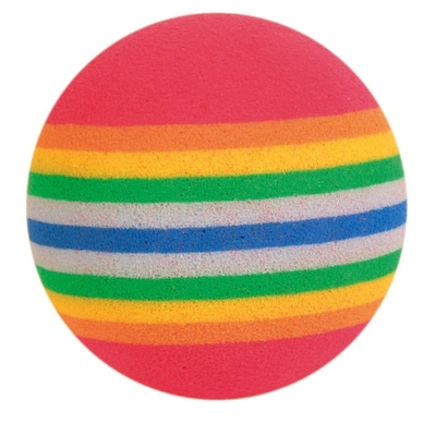 Trixie №4097-1 - мячик поликолор 3,5 см (1шт)